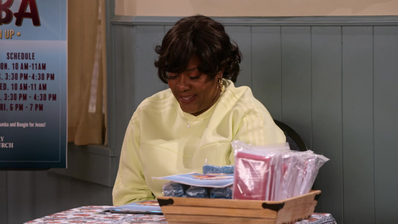 Adidas x Ivy Park Sweatshirt Worn by Loretta Devine as M'Dear in Family Reunion S03E08 Remember When Cocoa Found Her Calling (2021)