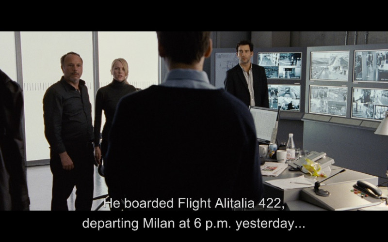 Alitalia Airline in The International (2009)