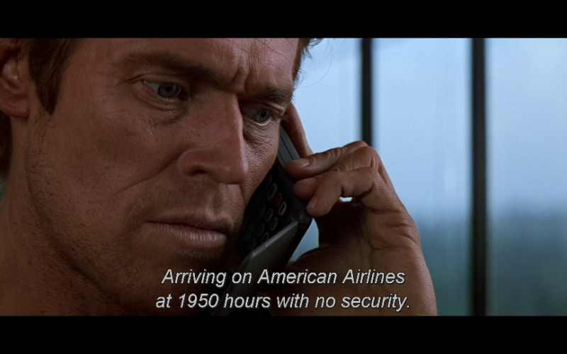 American Airlines in Clear and Present Danger (1994)