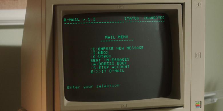 Apple II Retro Computer in For All Mankind S02E07 TV Show (1)