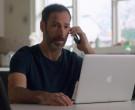 Apple MacBook Pro Laptop of Philip Sternberg as Nathan Foste...
