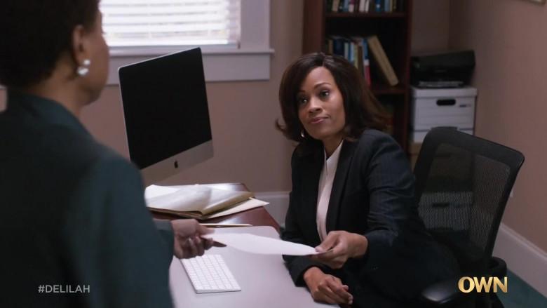 Apple iMac Computer in Delilah S01E08 The Long Game (2021)
