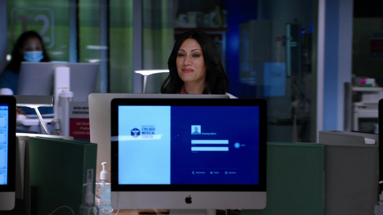 Apple iMac Computers Used by Cast Members in Chicago Med S06E10 TV Show (3)