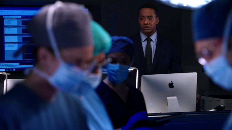 Apple iMac Computers Used by Cast Members in Chicago Med S06E10 TV Show (4)