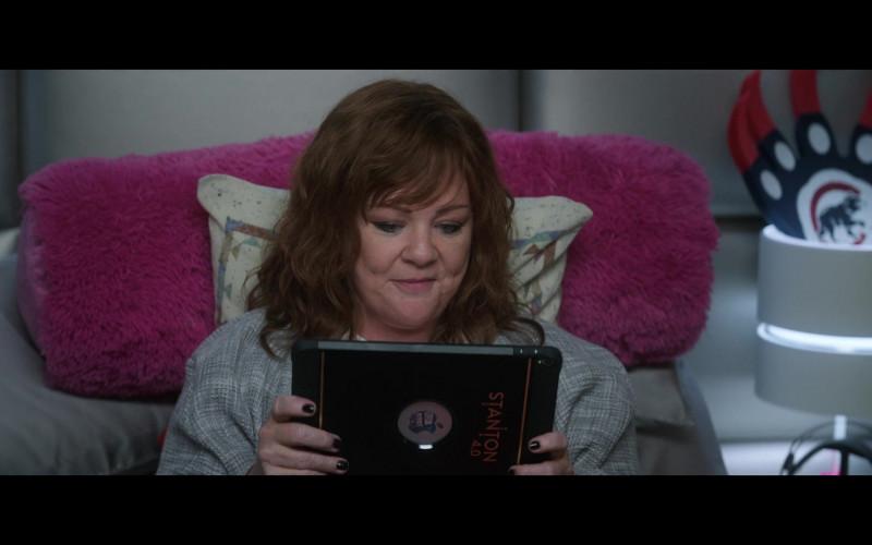 Apple iPad Tablet of Melissa McCarthy as Lydia Berman in Thunder Force (3)