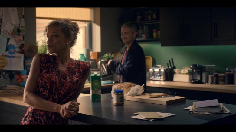 Asda Apple Juice and Peanut Butter in Breeders S02E04 No Faith (2021)