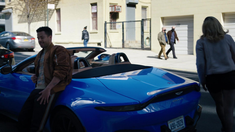 Aston Martin Vantage Roadster in Law & Order Organized Crime S01E03 Say Hello to My Little Friends (2021)