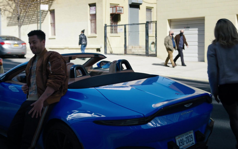 Aston Martin Vantage Roadster in Law & Order Organized Crime S01E03 Say Hello to My Little Friends (2021)