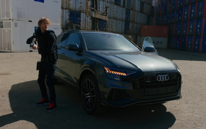 Audi Q8 SUV in NCIS Los Angeles S12E14 The Noble Maidens (2021)