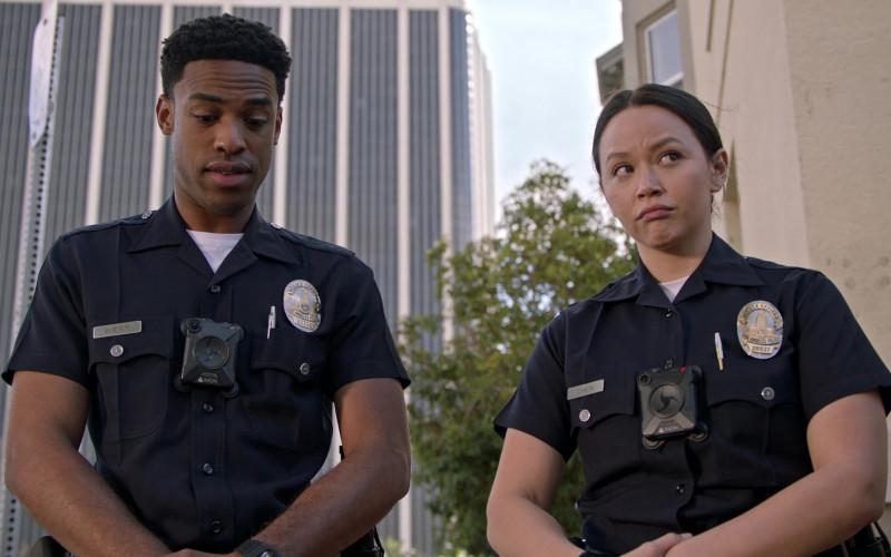 Axon Body Cameras in The Rookie S03E10 TV Show (1)