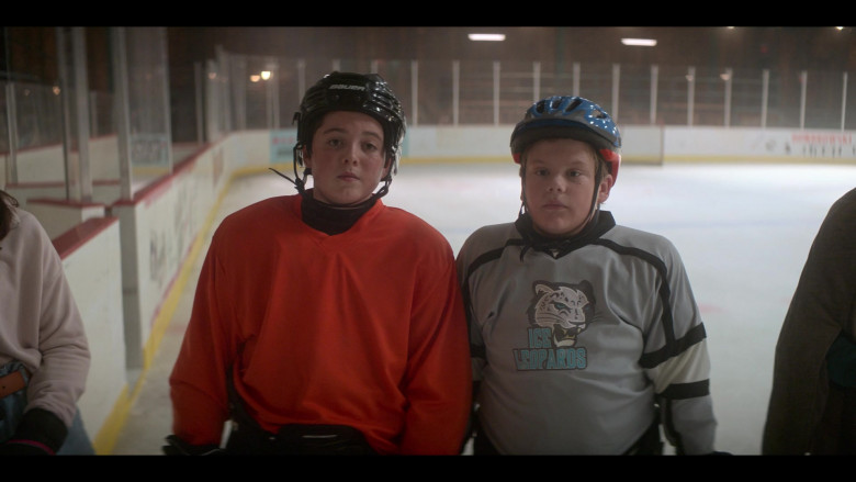 Bauer Hockey Helmet Worn by Brady Noon as Evan Morrow in The Mighty Ducks Game Changers S01E02 Dusters (2021)