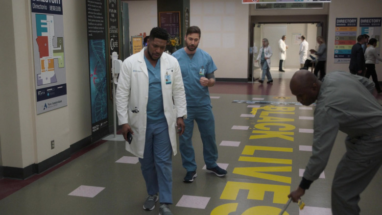 Black Lives Matter in New Amsterdam S03E06 Why Not Yesterday (2021)