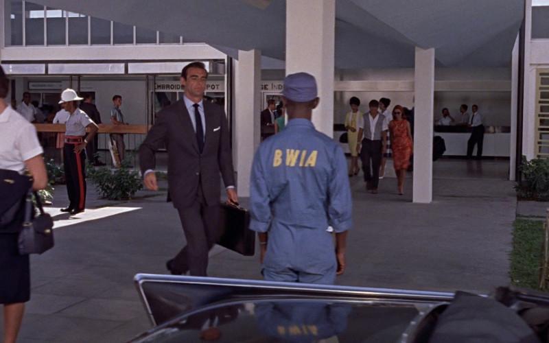 British West Indian Airways (BWIA) in Dr. No (1962)