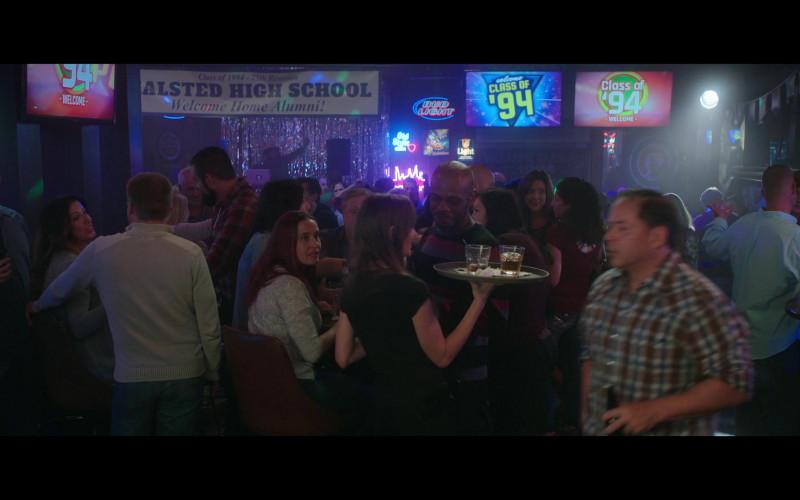 Bud Light Beer Sign in Thunder Force (2021)