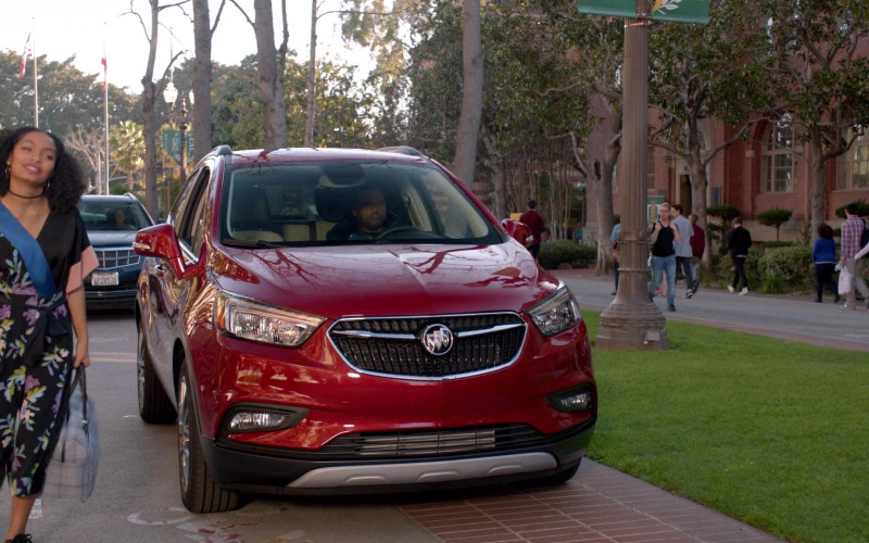 Buick Encore Red Car in Black-ish S07E18 My Dinner With Andre Junior (2021)