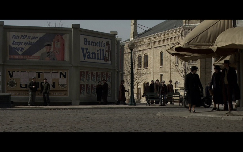 Burnett's Vanilla vodka in Public Enemies (2009)