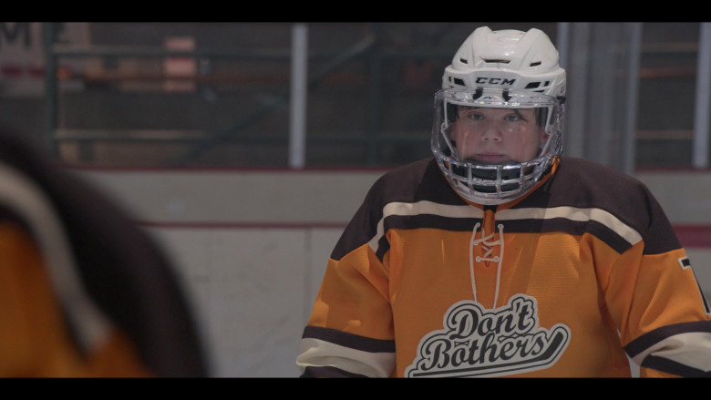 CCM Hockey Helmet Worn by Maxwell Simkins as Nick Gaines in The Mighty Ducks Game Changers S01E02 Dusters (2021)