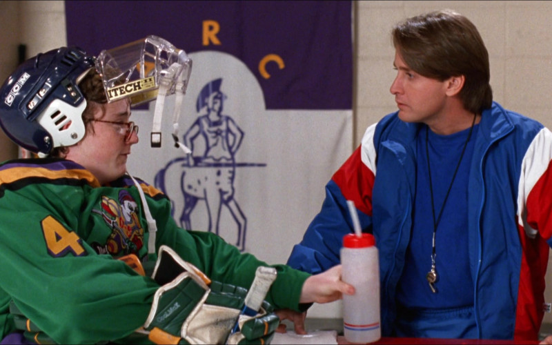 CCM Hockey Helmet and Itech Shield in D2 The Mighty Ducks (1)