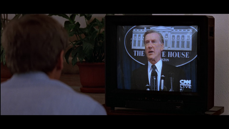 CNN Television Channel in Clear and Present Danger (1994)