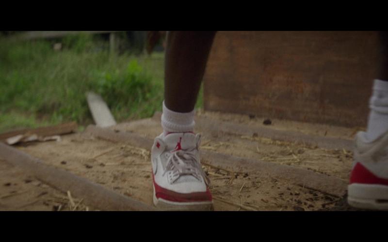 Caleb McLaughlin as Cole Wears Nike Air Jordan 3 Sneakers in Concrete Cowboy 2020 Netflix Movie (3)