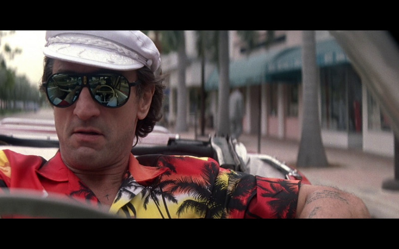 Carrera 5565 Sunglasses of Robert De Niro as Max Cady in Cape Fear (1991)