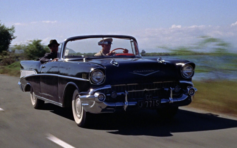 Chevrolet Bel Air Convertible Car in Dr. No (1962)