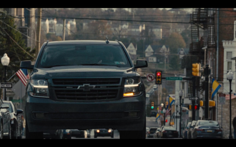 Chevrolet Tahoe Car in Mare of Easttown Episode 1 Miss Lady Hawk Herself (2021)