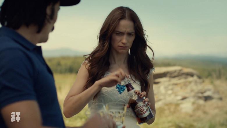Chivas Regal 12 Year Old Whisky Bottle in Wynonna Earp S04E12 Old Souls (2021)
