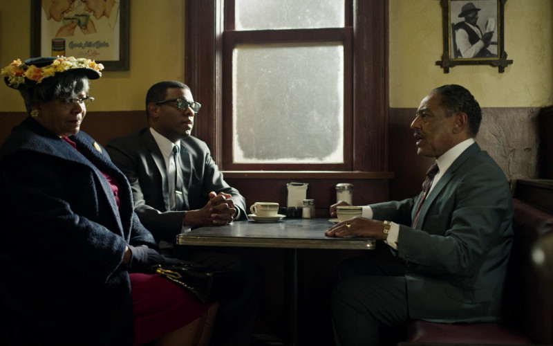 Chock full o'Nuts Coffee Poster in Godfather of Harlem S02E01 (2)