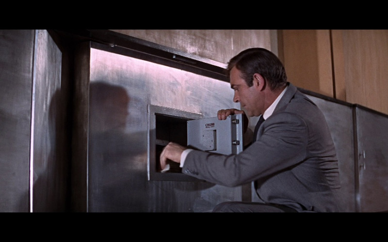 Chubb Wall Safe in You Only Live Twice (1967)