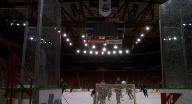 Coca-Cola, Budweiser and Winston in The Mighty Ducks (1)