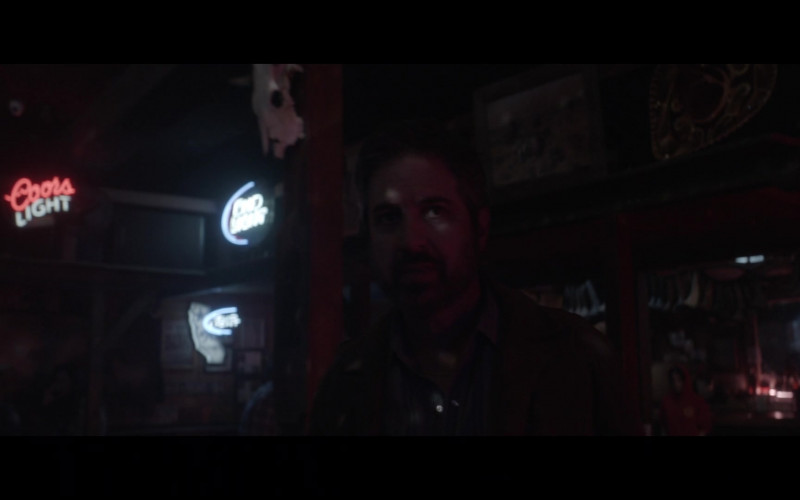 Coors Light Beer Sign in Made for Love S01E02 Another (2021)