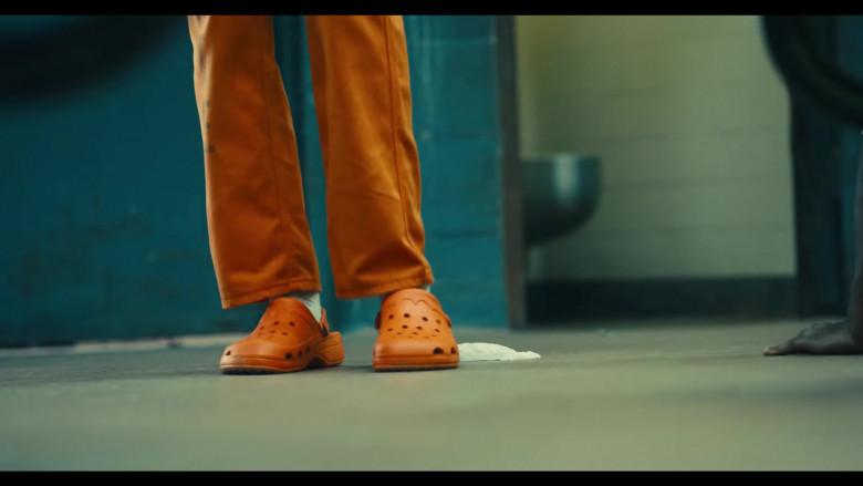 Crocs Orange Sandals of Pete Davidson as Blackguard in The Suicide Squad 2 (1)
