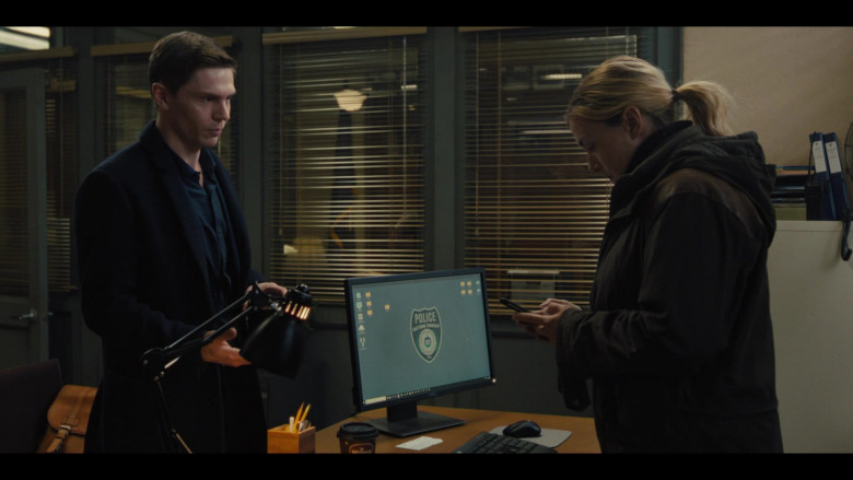 Dell Computer Monitor Used by Kate Winslet as Det. Mare Sheehan in Mare of Easttown S01E02 Fathers (2021)