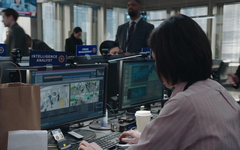Dell Computer Monitor in FBI S03E10 Checks and Balances (1)