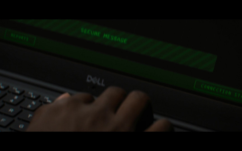 Dell Laptop of Anthony Mackie as Sam Wilson in The Falcon and The Winter Soldier S01E04 (2)