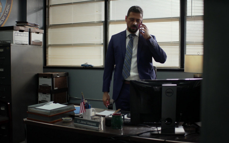 Dell Monitor Used by J. R. Ramirez as Jared Vasquez in Manifest S03E05 Water Landing (2021)