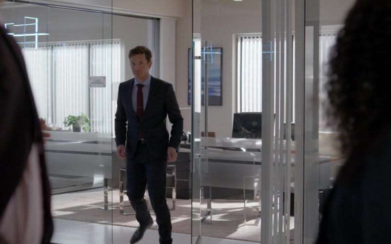 Dell Monitor Used by Sam Palladio as Luke Chapman in Rebel S01E02 Patient X (2021)