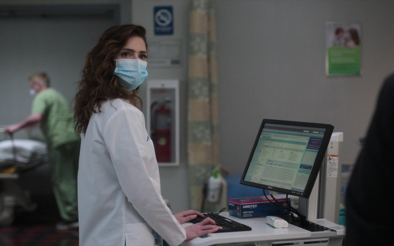 Dell Monitor in New Amsterdam S03E07 The Legend of Howie Cournemeyer (2021)
