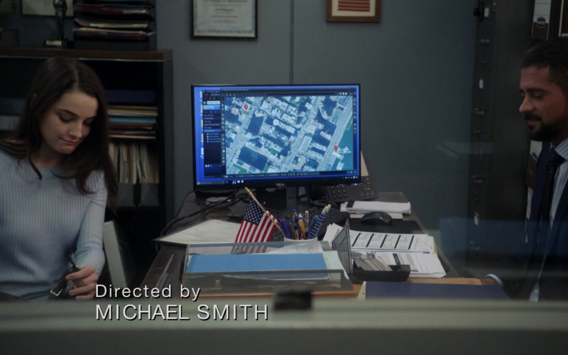 Dell PC Monitor in Manifest S03E04 Tailspin (2021)