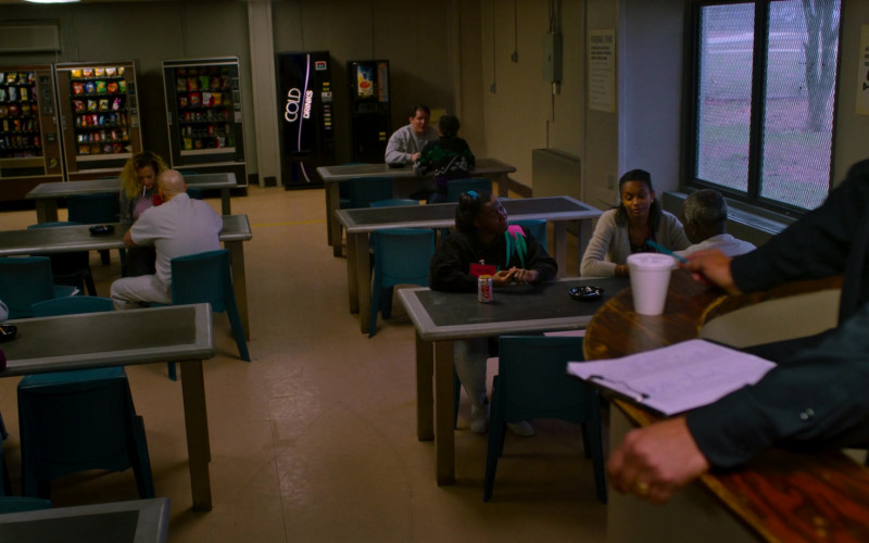 Diet Coke Can in City on a Hill S02E03 Is the Total Black, Being Spoken (2021)