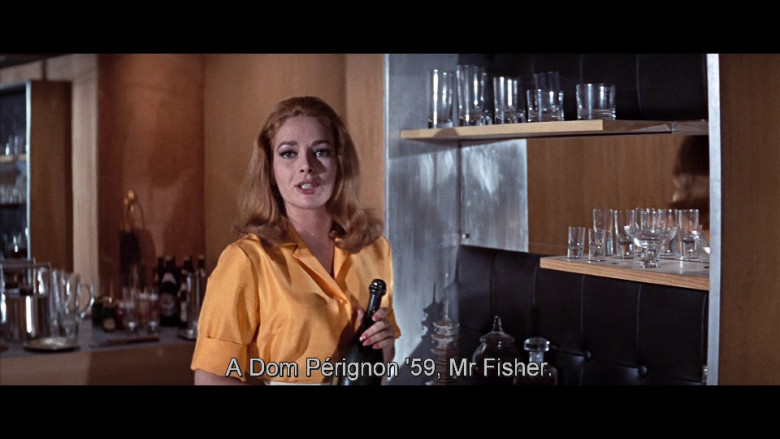 Dom Pérignon champagne in You Only Live Twice (1967)