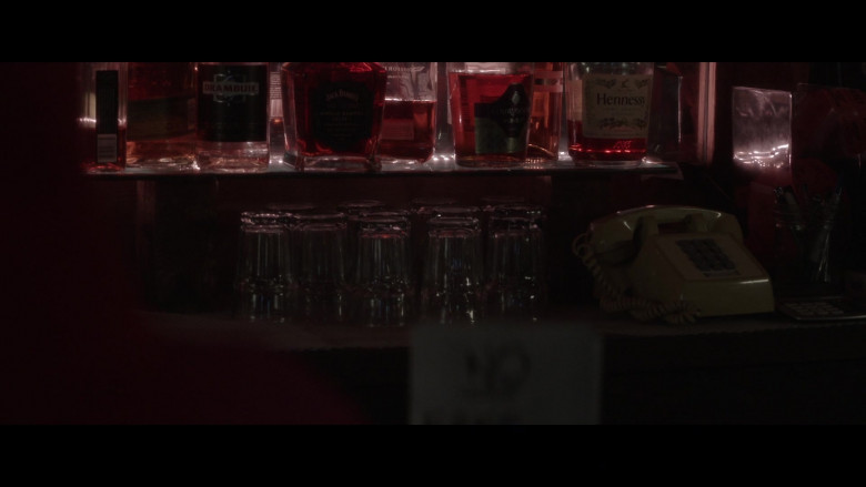 Drambuie Liqueur, Jack Daniel's Whiskey, Courvoisier VSOP and Hennessy Cognac in Made for Love S01E02 Another (2021)
