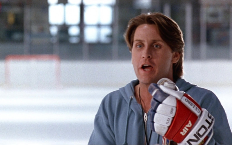 Easton Hockey Gloves of Emilio Estevez as Gordon Bombay in D2 The Mighty Ducks 1994 (1)