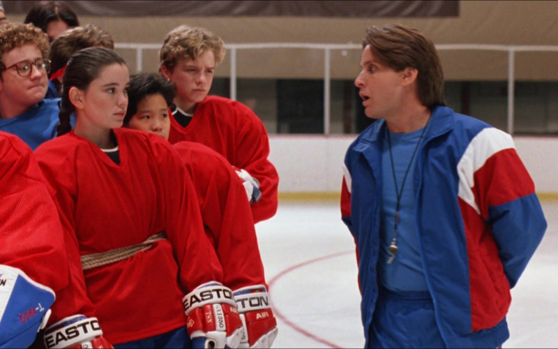 Easton Ice Hockey Gloves in D2 The Mighty Ducks (1)