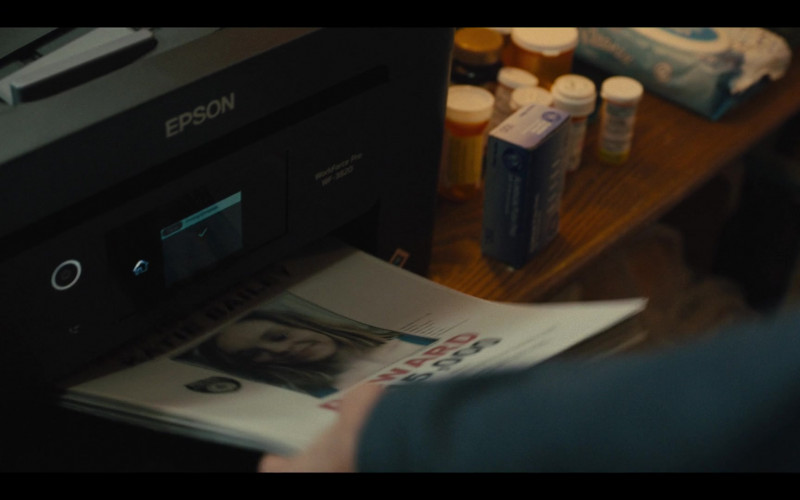 Epson Printer in Mare of Easttown Episode 1 Miss Lady Hawk Herself (2021)