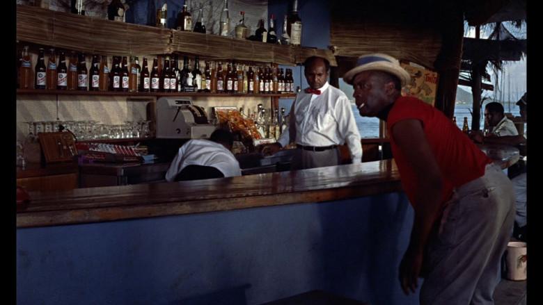 Fanta Soda, Red Stripe Beer, Philip Morris Cigarettes in Dr. No (1962)