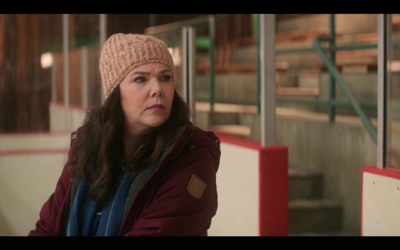 Fjallraven Women's Jacket Worn by Lauren Graham as Alex Morrow in The Mighty Ducks Game Changers S01E05 Cherry Picker (2021