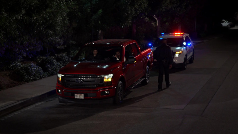 Ford-150 Red Pickup Truck in United States of Al S01E01 Pilot (2021)