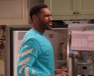 GE Profile Refrigerator in Family Reunion S03E04 Remember W...